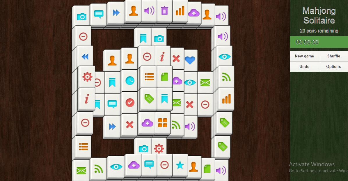 Mahjong Solitaire -2
